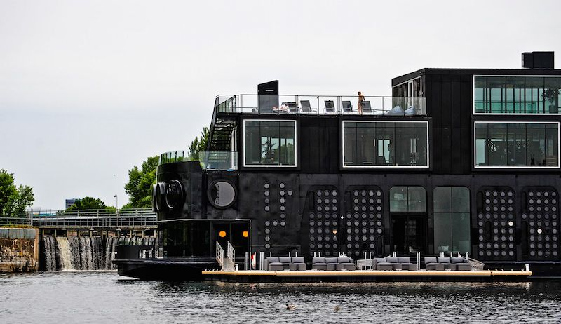 Bota Bota Spa On Water PVCConstruct - Bota bota floating spa in montreal by sid lee architecture