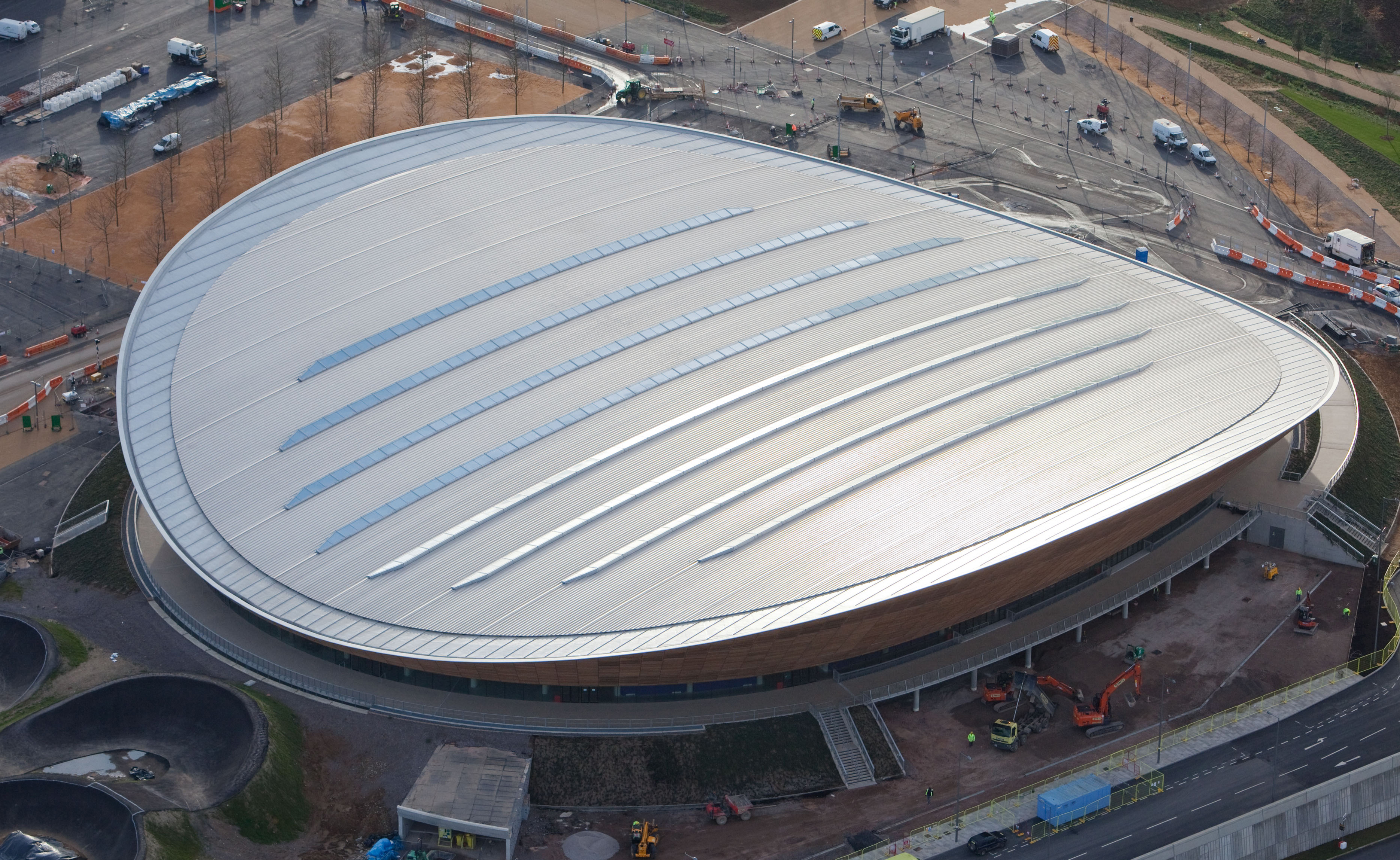 Olympic Velodrome Pvcconstruct