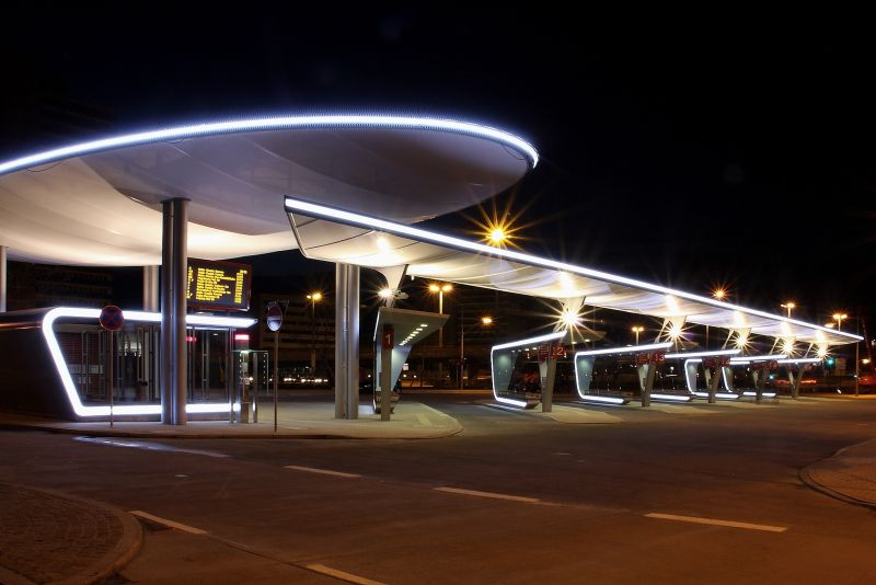 Halle Bus Station Pvcconstruct